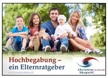 Titelbild »Hochbegabung – Ein Elternratgeber«